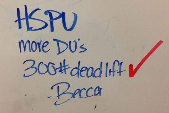 Becca deadlift